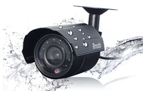 weatherproof led security camera