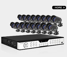 16 camera surveillance system