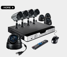 8 camera surveillance system