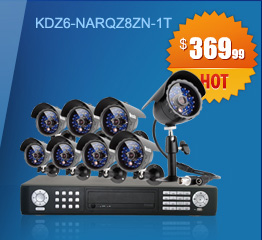 16CH DVR Sony CCD Outdoor CCTV Surveillance System with 8 Night Vision Cameras - 1TB Hard Drive